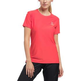 Haglöfs L.I.M Tech T-shirt Femme, hibiscus red